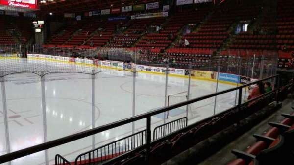 Floyd L. Maines Veterans Memorial Arena, section: 23, row: B, seat: 14