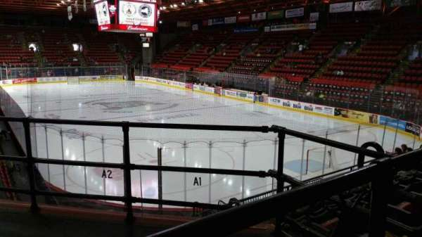 Floyd L. Maines Veterans Memorial Arena, section: 24, row: F, seat: 1