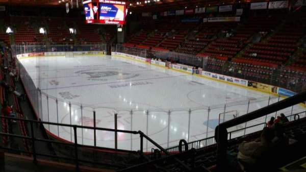 Floyd L. Maines Veterans Memorial Arena, section: 24, row: H, seat: 1