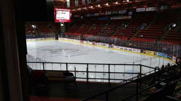 Floyd L. Maines Veterans Memorial Arena, section: 24, row: H, seat: 7