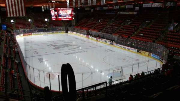 Floyd L. Maines Veterans Memorial Arena, section: 24, row: M, seat: 1