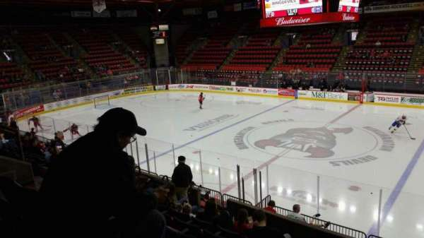 Floyd L. Maines Veterans Memorial Arena, section: 28, row: I, seat: 7