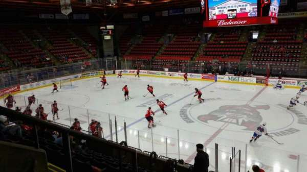 Floyd L. Maines Veterans Memorial Arena, section: 28, row: I, seat: 14