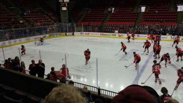 Floyd L. Maines Veterans Memorial Arena, section: 2, row: D, seat: 1
