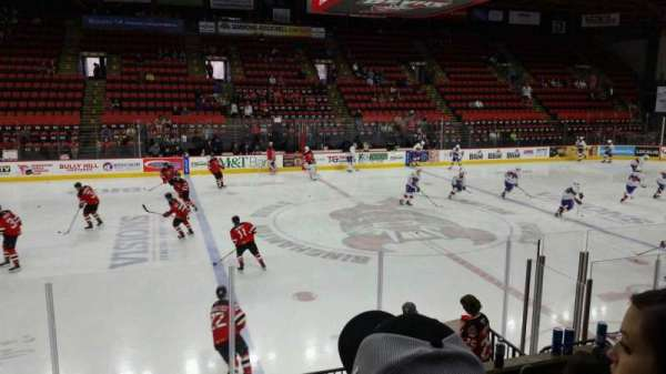 Floyd L. Maines Veterans Memorial Arena, section: 2, row: D, seat: 9