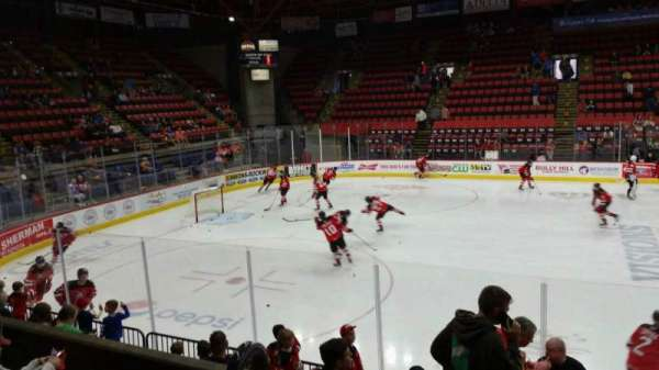 Floyd L. Maines Veterans Memorial Arena, section: 2, row: D, seat: 14