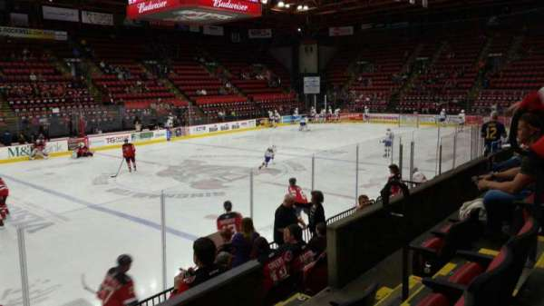 Floyd L. Maines Veterans Memorial Arena, section: 3, row: C, seat: 6