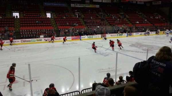 Floyd L. Maines Veterans Memorial Arena, section: 3, row: C, seat: 14