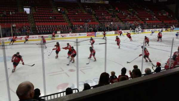 Floyd L. Maines Veterans Memorial Arena, section: 4, row: B, seat: 7