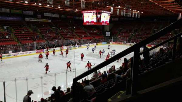 Floyd L. Maines Veterans Memorial Arena, section: 5, row: H, seat: 1