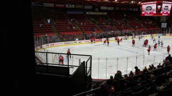 Floyd L. Maines Veterans Memorial Arena, section: 5, row: H, seat: 7