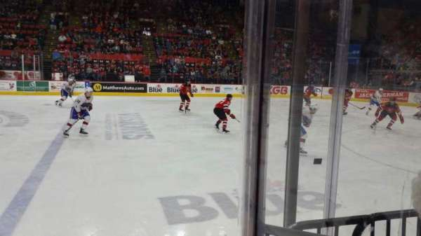 Floyd L. Maines Veterans Memorial Arena, section: 14, row: BB, seat: 7