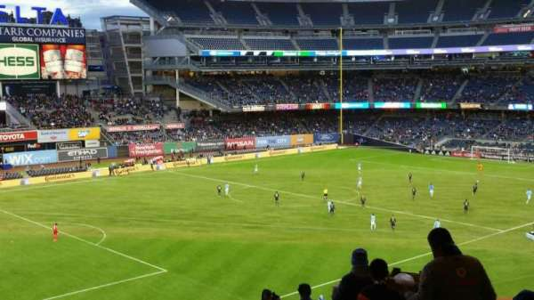 Yankee Stadium, section: 230, row: 23, seat: 3