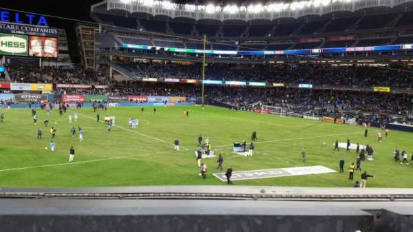 Yankee Stadium, section: 227B, row: 1, seat: 7