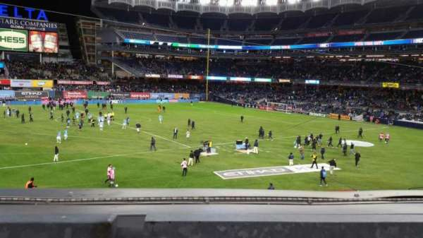 Yankee Stadium, section: 227B, row: 1, seat: 6