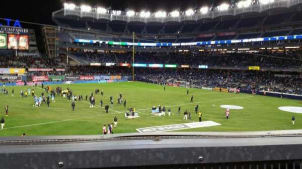 Yankee Stadium, section: 227B, row: 1, seat: 5