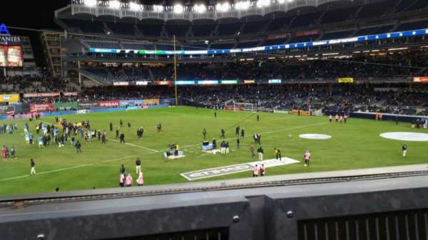 Yankee Stadium, section: 227B, row: 1, seat: 4