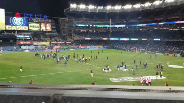 Yankee Stadium, section: 227B, row: 1, seat: 3