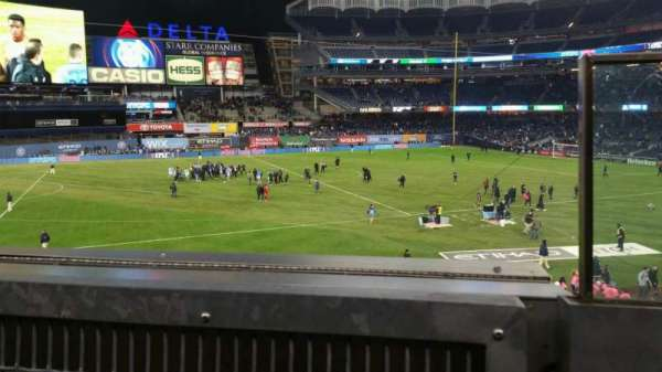 Yankee Stadium, section: 227B, row: 1, seat: 1