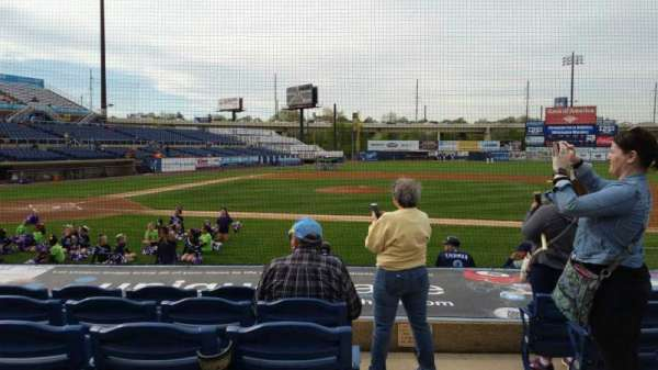 Frawley Stadium, section: 9, row: 6, seat: 1