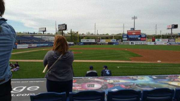 Frawley Stadium, section: 8, row: 4, seat: 10