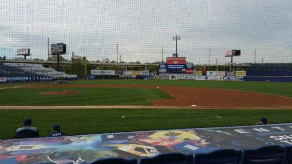 Frawley Stadium, section: 8, row: 4, seat: 6