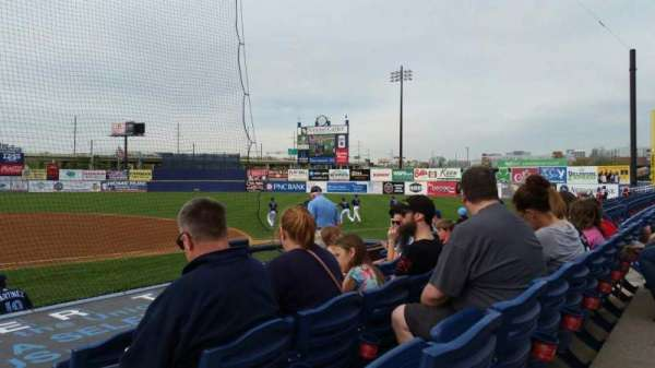 Frawley Stadium, section: 8, row: 4, seat: 1