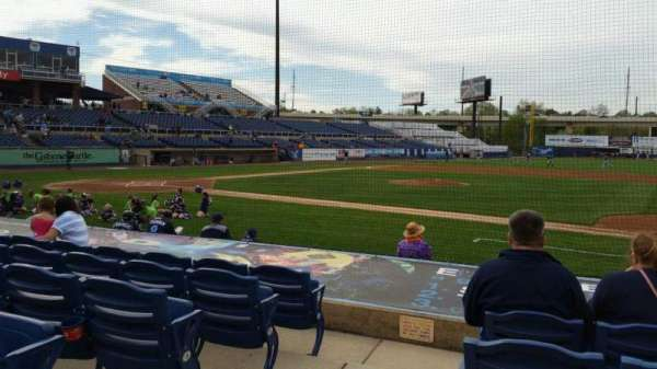 Frawley Stadium, section: 7, row: 6, seat: 9