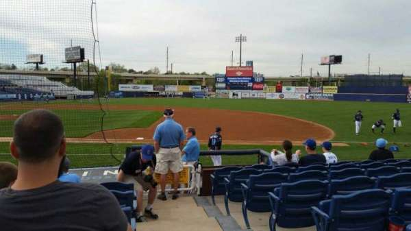 Frawley Stadium, section: 7, row: 6, seat: 1