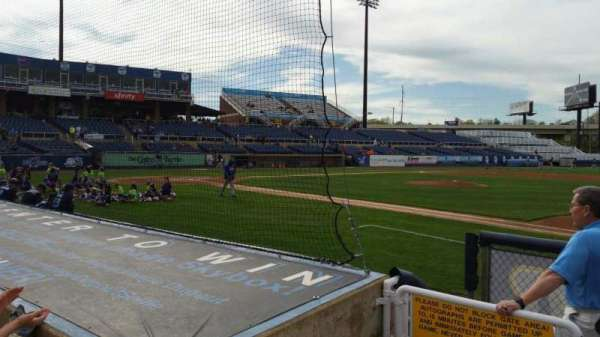 Frawley Stadium, section: 6, row: 4, seat: 10