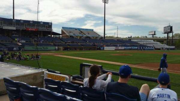 Frawley Stadium, section: 6, row: 4, seat: 5