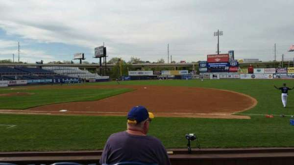 Frawley Stadium, section: 6, row: 4, seat: 1