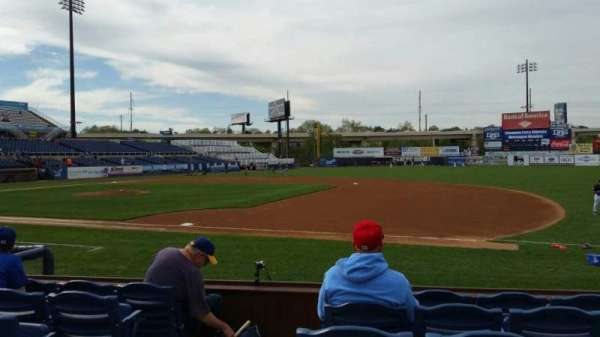 Frawley Stadium, section: 5, row: 6, seat: 10