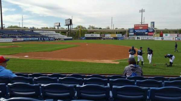 Frawley Stadium, section: 5, row: 6, seat: 6