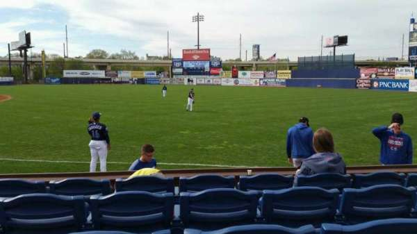 Frawley Stadium, section: 1, row: 5, seat: 6