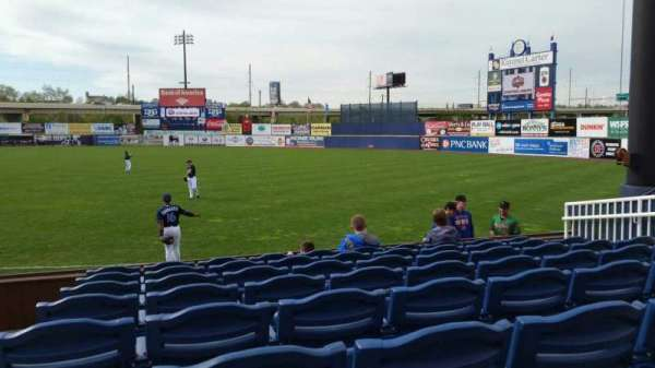 Frawley Stadium, section: 1, row: 8, seat: 10