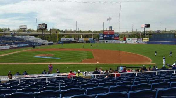 Frawley Stadium, section: B, row: 9, seat: 17