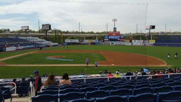 Frawley Stadium, section: B, row: 9, seat: 23