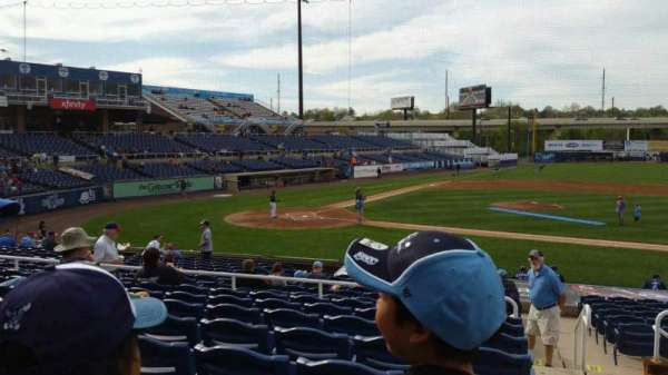 Frawley Stadium, section: C, row: 8, seat: 1