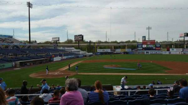 Frawley Stadium, section: C, row: 8, seat: 17
