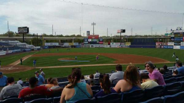 Frawley Stadium, section: C, row: 8, seat: 23