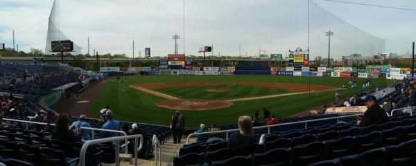 Frawley Stadium, section: F, row: 7, seat: 15