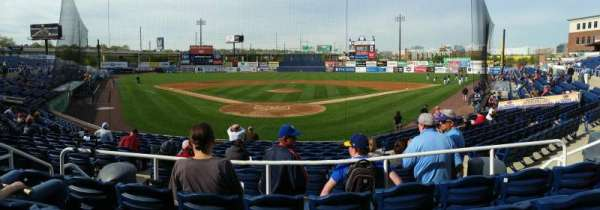 Frawley Stadium, section: G, row: 4, seat: 9