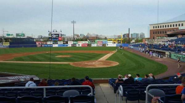 Frawley Stadium, section: J, row: 5, seat: 1