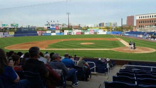 Frawley Stadium, section: K, row: 8, seat: 14