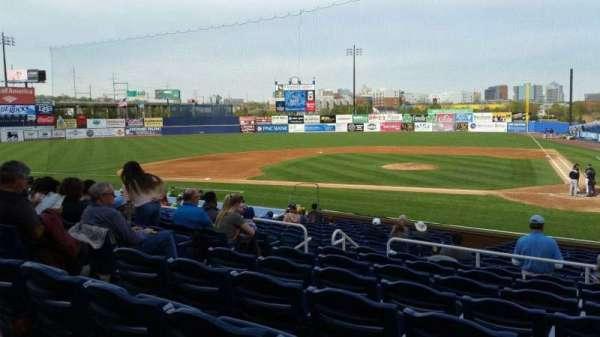 Frawley Stadium, section: K, row: 8, seat: 9