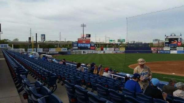 Frawley Stadium, section: L, row: 7, seat: 17