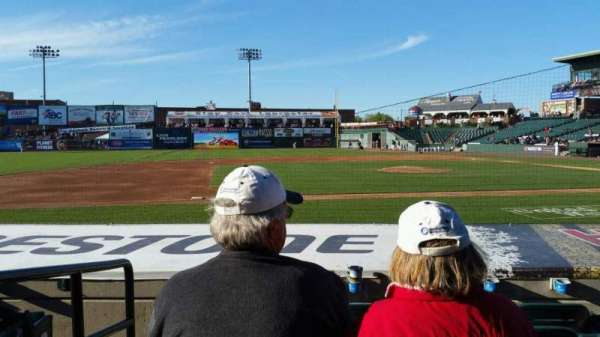 Clipper Magazine Stadium, section: 21, row: G, seat: 10