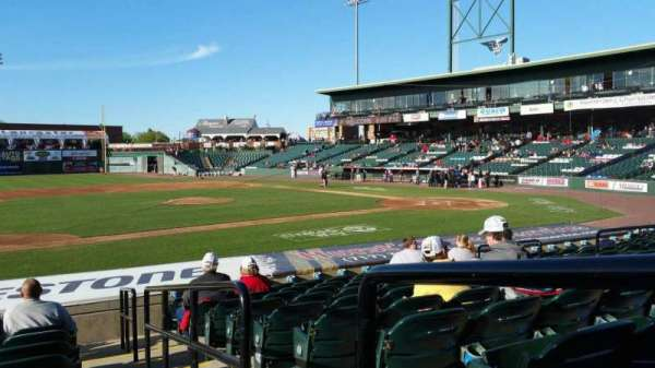 Clipper Magazine Stadium, section: 22, row: M, seat: 1