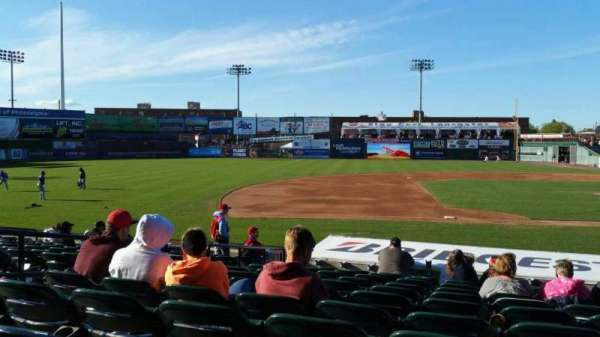 Clipper Magazine Stadium, section: 22, row: M, seat: 5